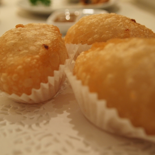 deep fried meat dumpling @ Paradise Chinese Cuisine