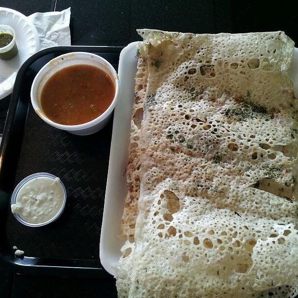 Onion Rava Masala Dosa @ Amma Vegetarian Kitchen