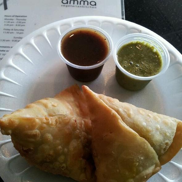 Samosa @ Amma Vegetarian Kitchen