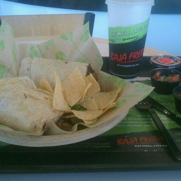 Burrito Dos Manos @ Baja Fresh Mexican Grill