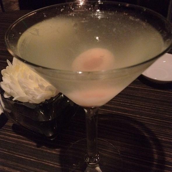 Asian Pear Lychee Martini - Wokcano - Santa Monica, Santa Monica, CA