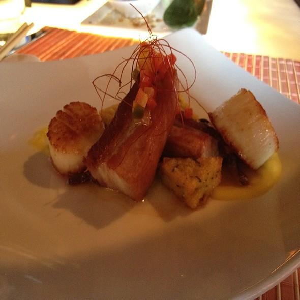 Scallops And Pork Belly @ Nikko Restaurant