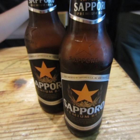 Sapporo @ Totto Ramen