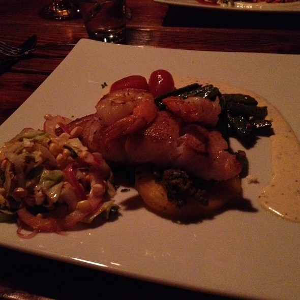 North Carolina Grouper - Bistro Roca and Antlers Bar, Blowing Rock, NC