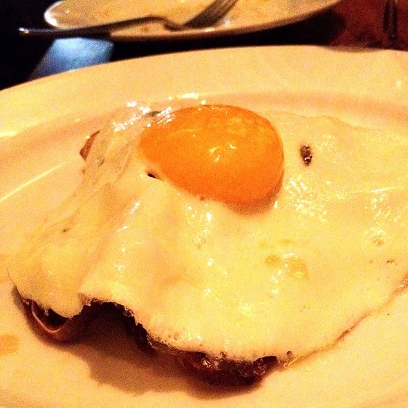 Pig Ears With Fried Egg And Lime  @ Animal Restaurant