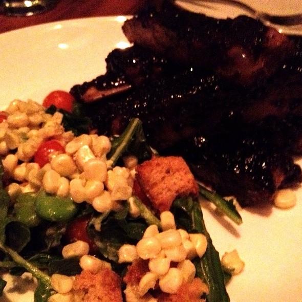 Balsamic Glazed Pork Ribs @ Animal Restaurant