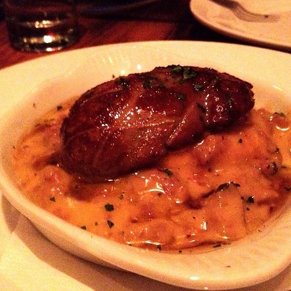 Foie Gras, Biscuit, Maple Sausage Gravy @ Animal Restaurant
