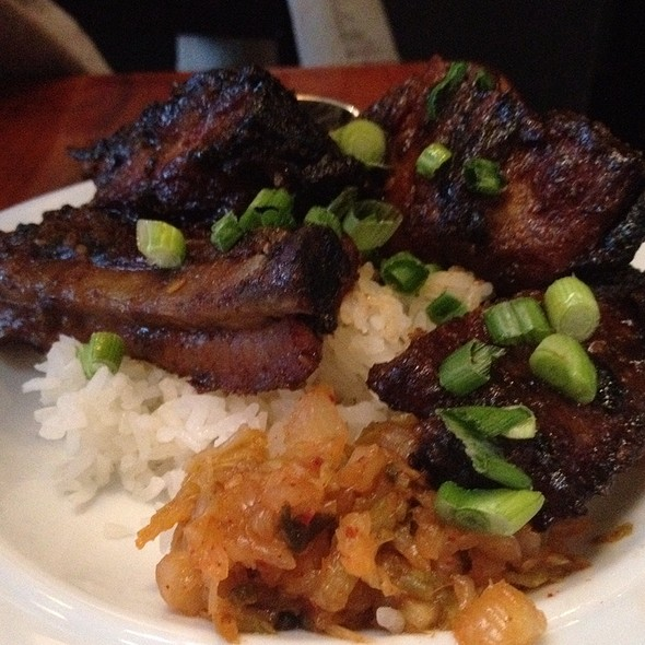 Kalbi Sticky Ribs @ The Surf Spot