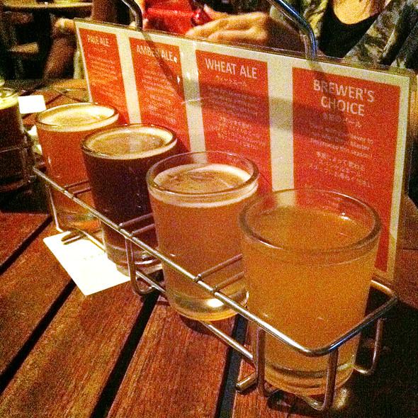 Craft Beer Tasting Set / テイスティングセット