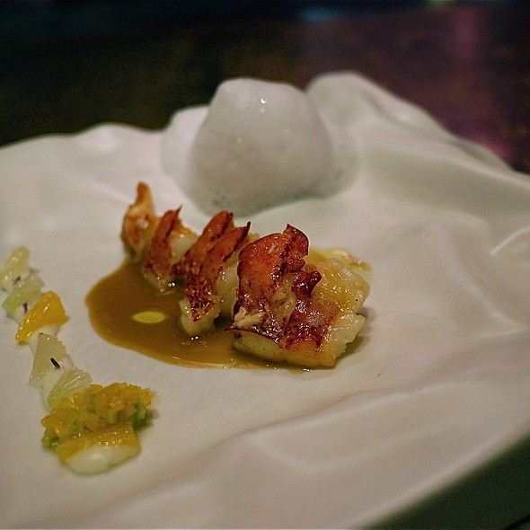 Lobster with Citrus and Jasmine @ E by Jose Andres