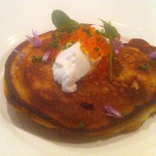 Lobster & Mushroom Pancake @ American Seasons