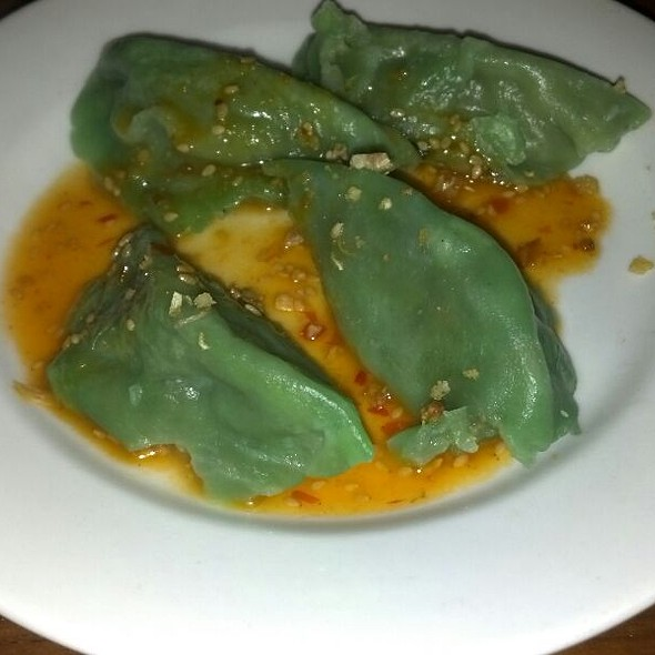Pepper Spinach Dumplings