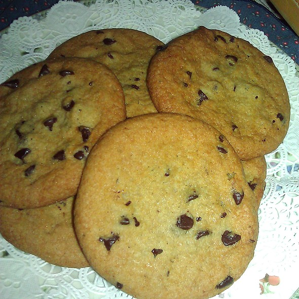 Chocolate Chip Cookies @ Applesauce Inn B&B