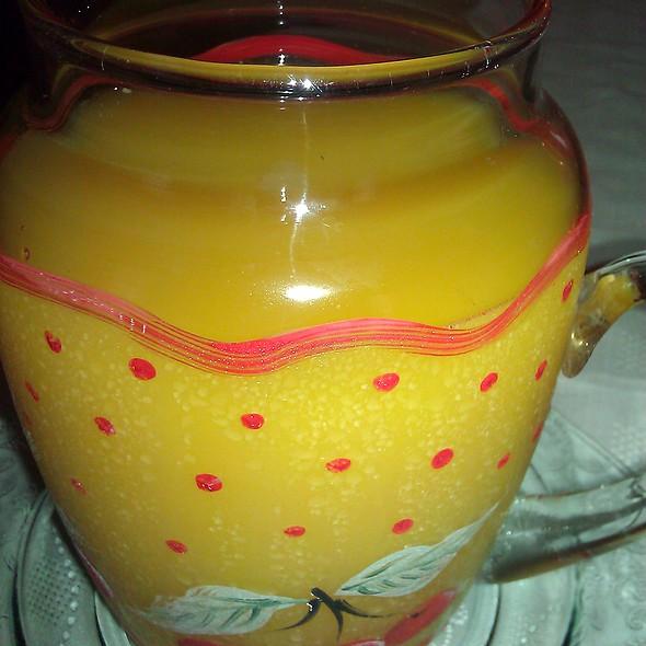 Orange Juice @ Applesauce Inn B&B