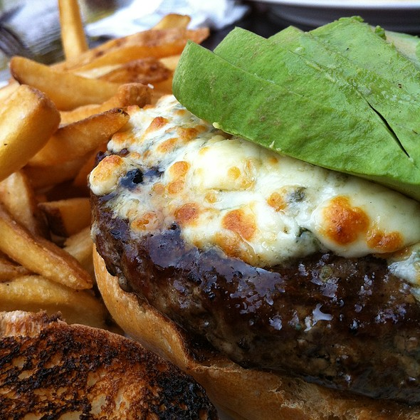 Avocado Blue Cheese Burger @ Sutton Place
