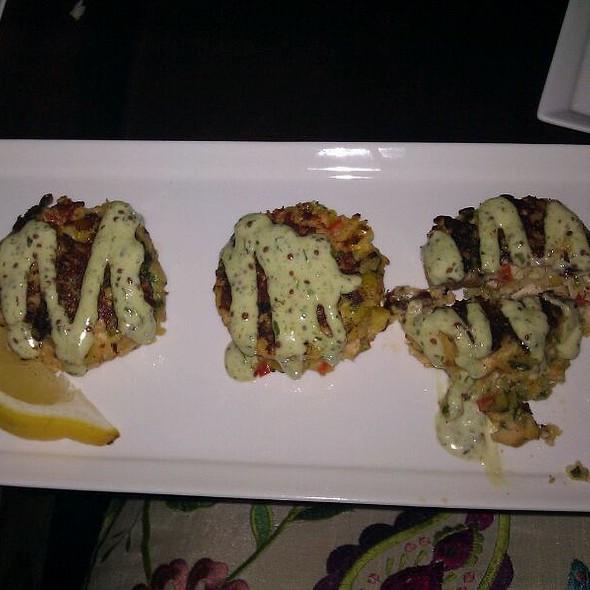 Salmon Corn Cakes @ Sapphire Hotel