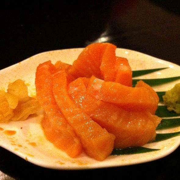 Salmon Sashimi @ Sensei Sushi Bar