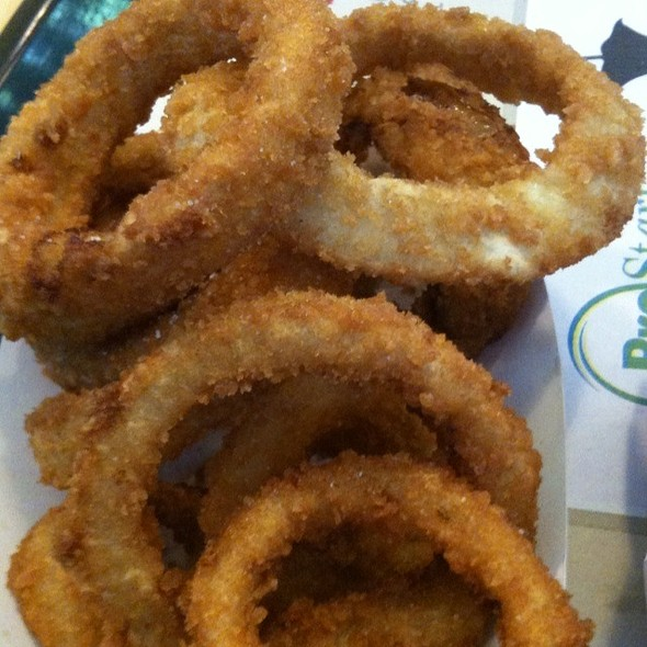Onion Rings @ The Habit Burger Grill