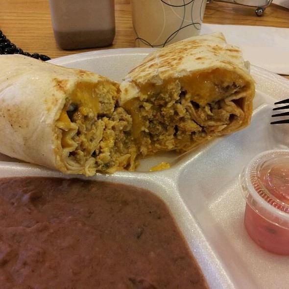 Mexican Breakfast (migas) @ Tortilla Cafe