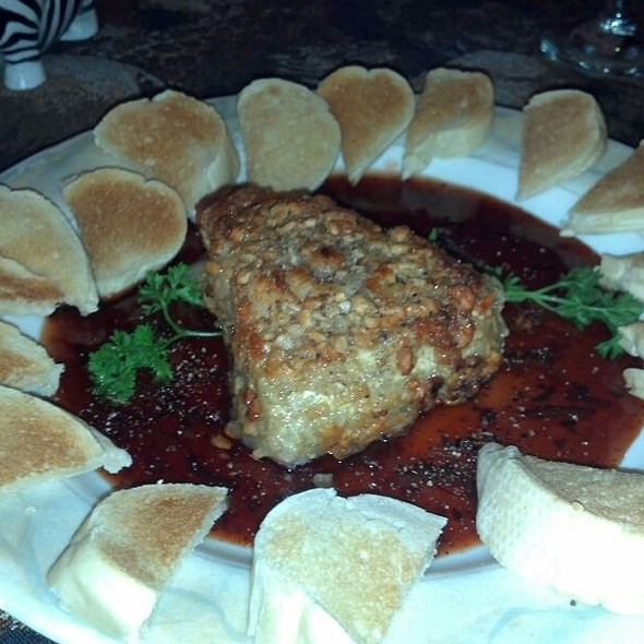 Baked Brie @ Cafe Margaux Restaurant
