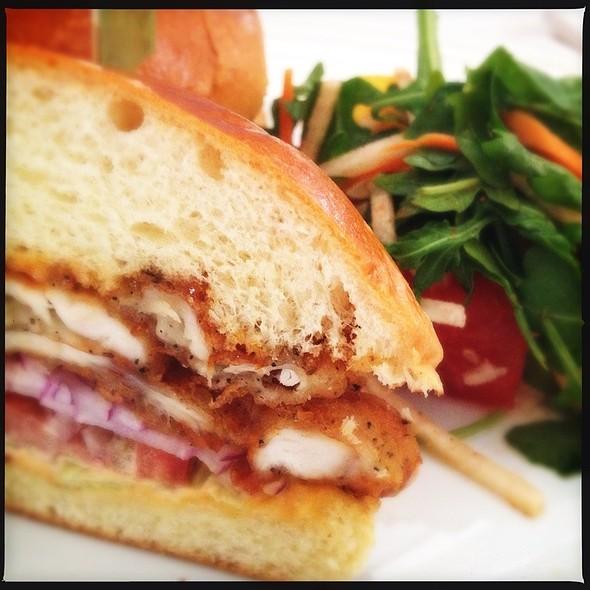 Fried Chicken Sandwich - Atlantic Grill, Eastside, New York, NY