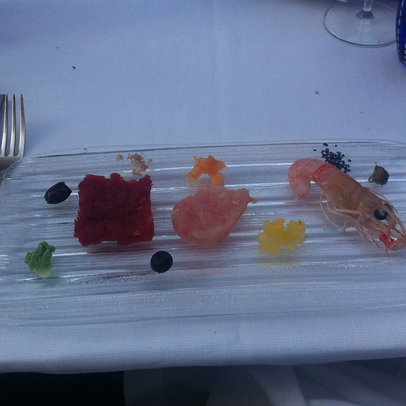 Asorted Raw Seafood @ all'Androna