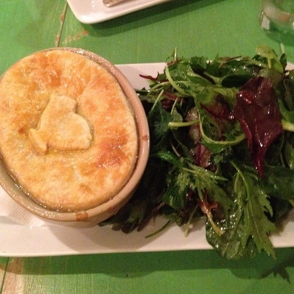 Chicken Pot Pie @ The Green Table