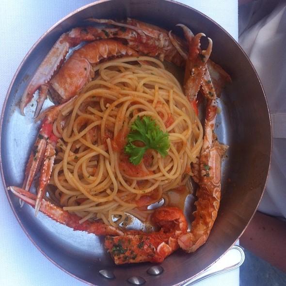 Spaghetti Con Scampi Alla Busara @ all'Androna