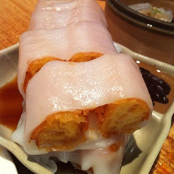 Crispy Chinese Fried Dough Rice Sheet Roll @ Koi Garden