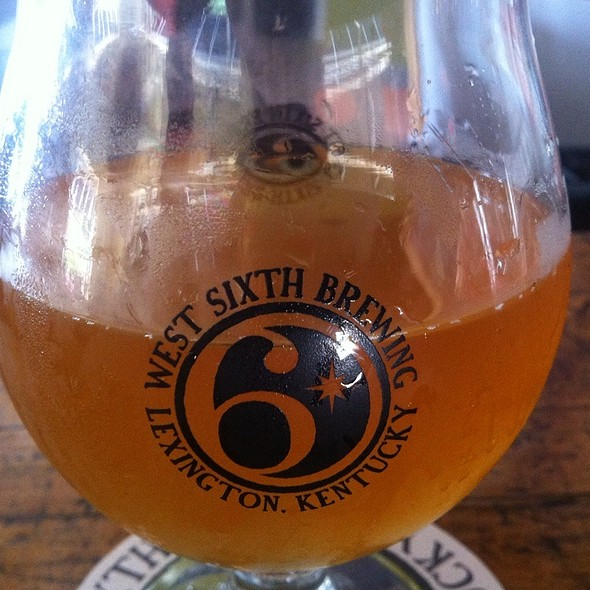 Saison Bellaire Beer  @ West Sixth Street Brewery