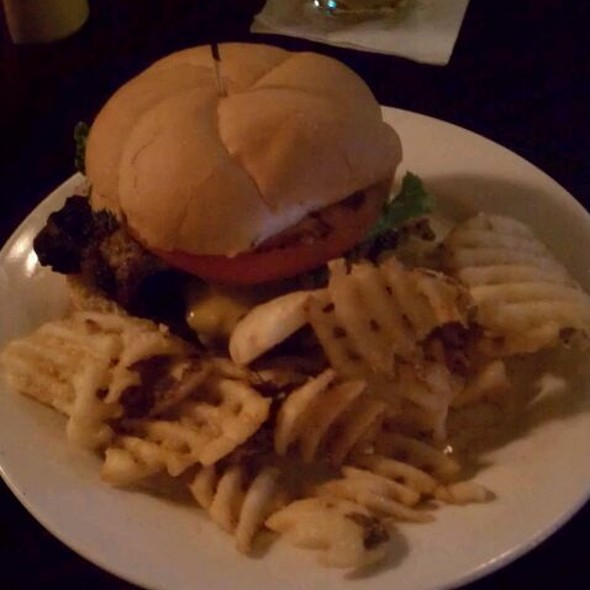 Summertime in Wisconsin Burger @ j. lotti's pub & grill house