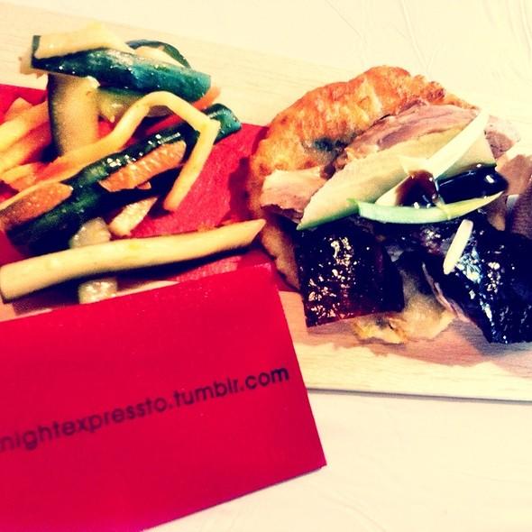 Peking Duck Pancake @ Midnight Express