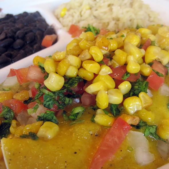 Tofu-Quinoa Enchiladas @ bee: best enchiladas ever