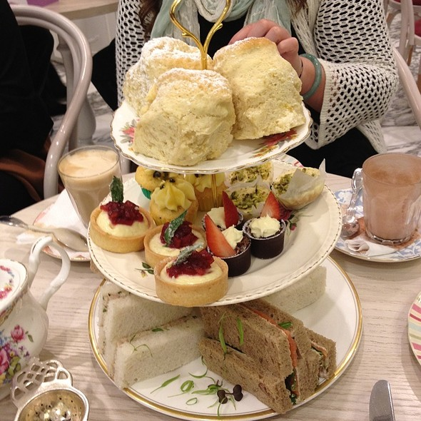 High Tea @ The Victoria Room Tea Salon