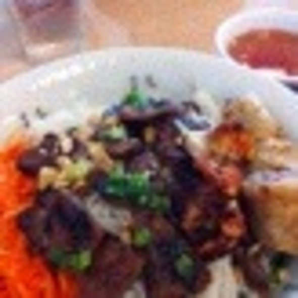 Bun Cha Gio Thit Nuong @ Pho Bang Restaurant
