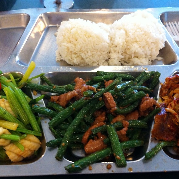 Mixed Lunch Plate (Vegetarian) @ Taiwan Cafe Inc