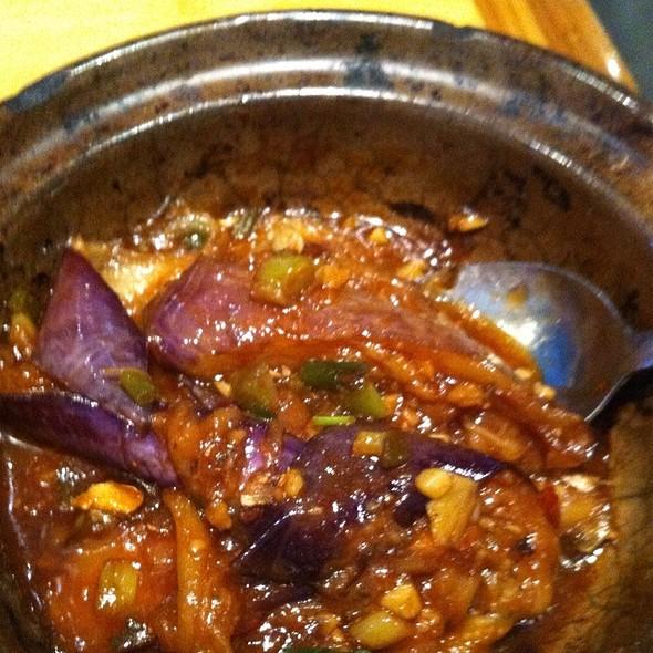 Eggplant in Hotpot @ Genroku Japanese Restaurant