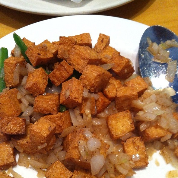 Salt And Pepper Tofu @ Genroku Japanese Restaurant