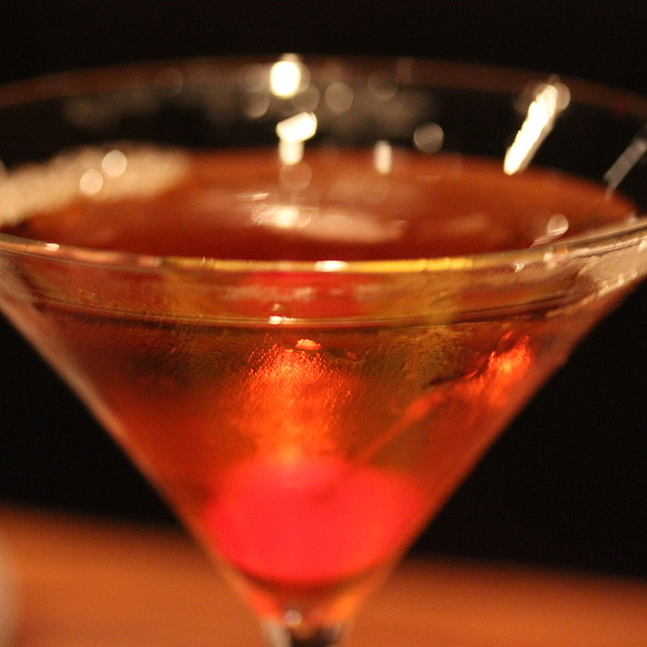 Bourbon Martini - Gulliver's Restaurant, Irvine, CA