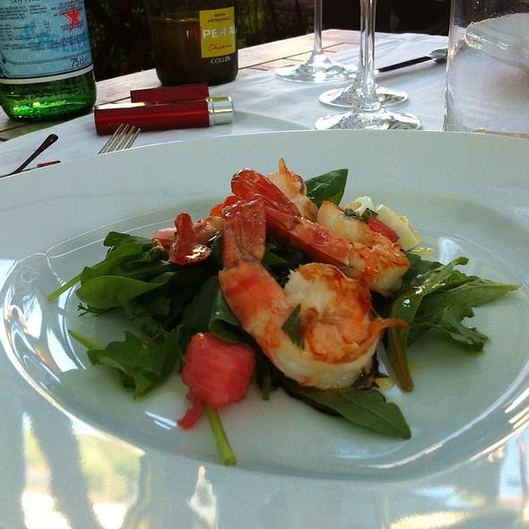 Scampi An Frühlingssalaten Und Amalfi Zitrone