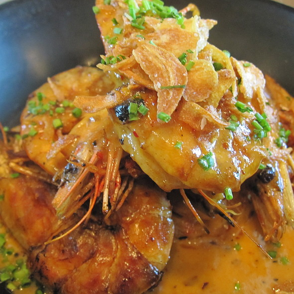 Shrimp A La Plancha @ The Optimist