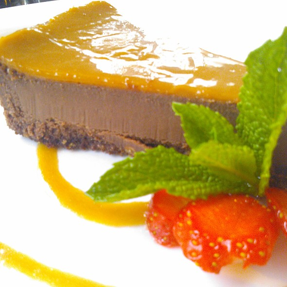 Salted caramel cheesecake @ Browns