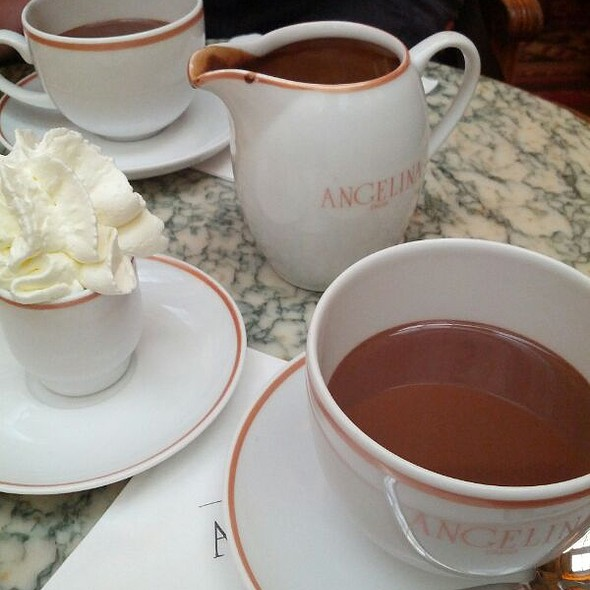 Hot Chocolate @ Angelina