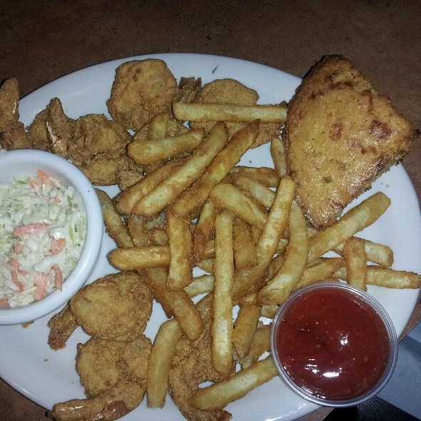 Cornmeal Breaded Shrimp N Fries - Chuck's Southern Comforts Cafe - Burbank, Burbank, IL