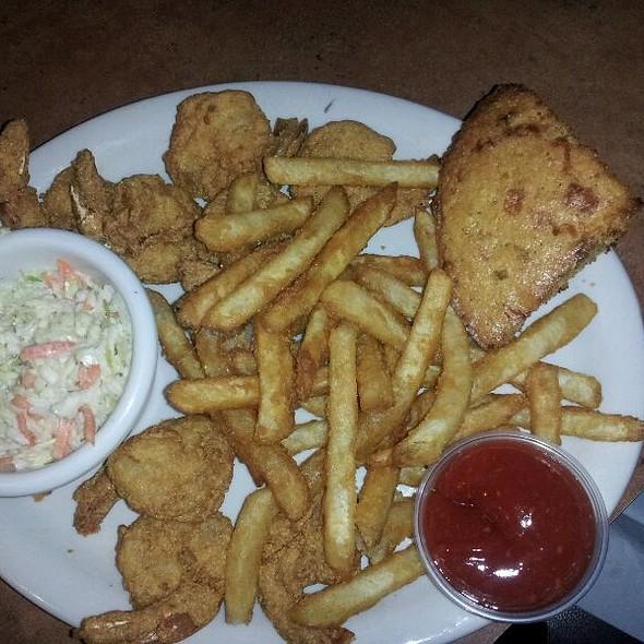 Cornmeal Breaded Shrimp N Fries - Chuck's Southern Comforts Cafe - Burbank, Burbank, IL