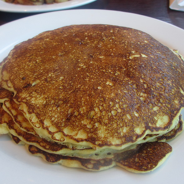 Lemon Ricotta Pancakes Breakfast - Prairie Grass Café, Northbrook, IL