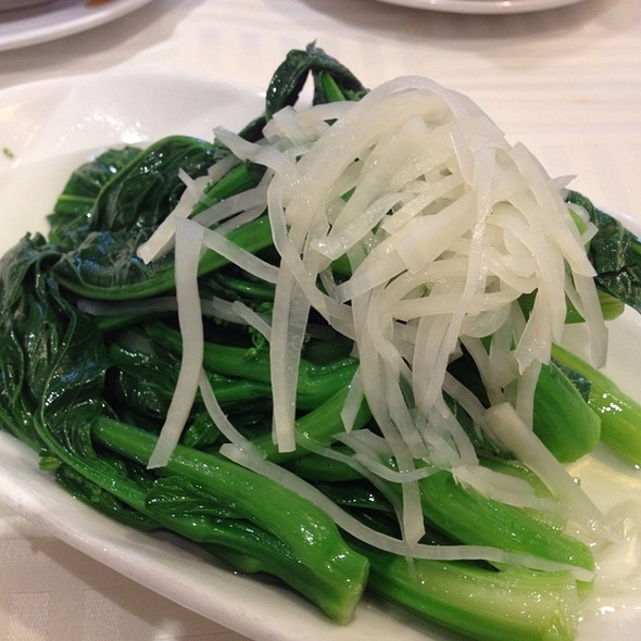 Greens With Pickled Veggies @ Sea Harbour Seafood Restaurant
