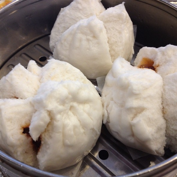 Steamed BBQ Pork Buns @ Sea Harbour Seafood Restaurant