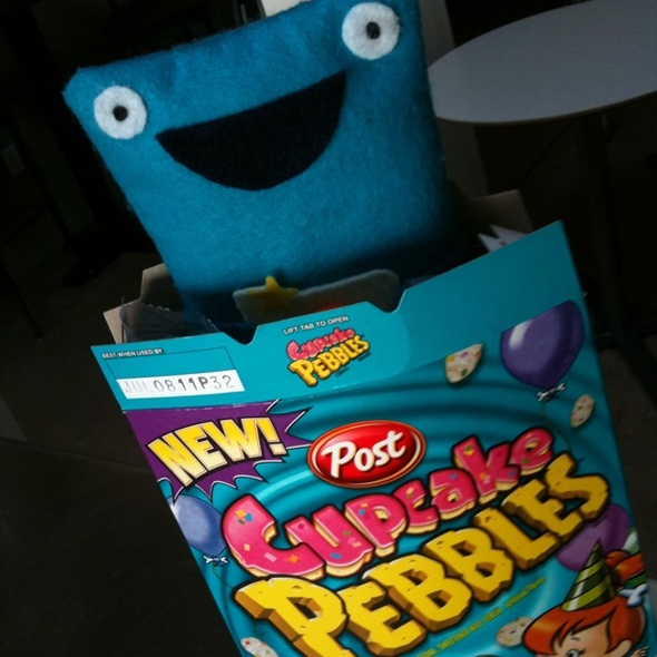 Cupcake Pebbles @ Foodspotting HQ