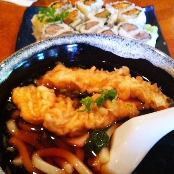 Tempura Udon Noodle Soup